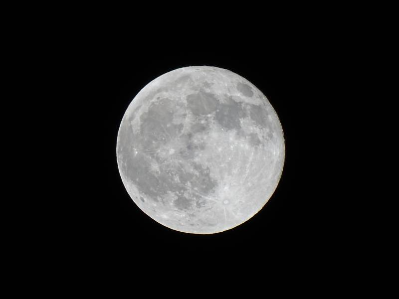 The moon, (seen from) Earth