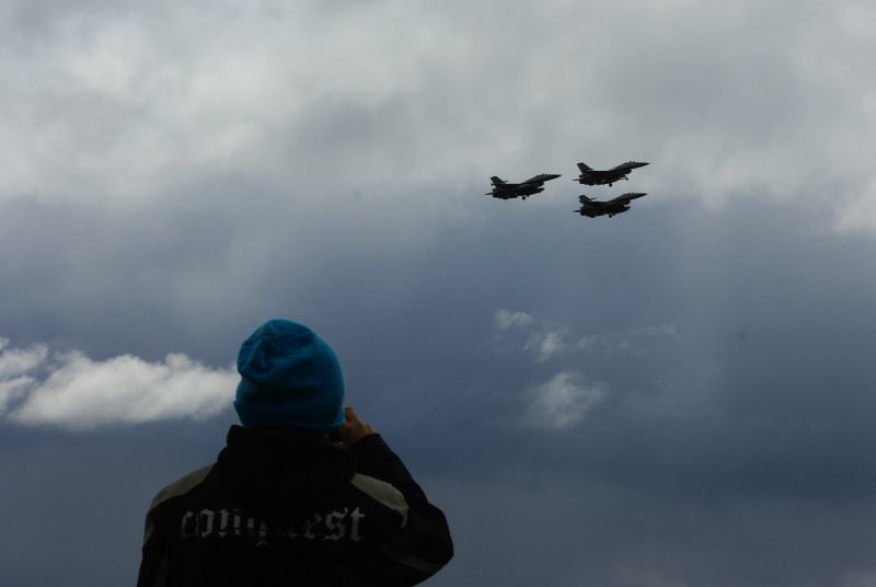 F-16 formation flight at NTM2012